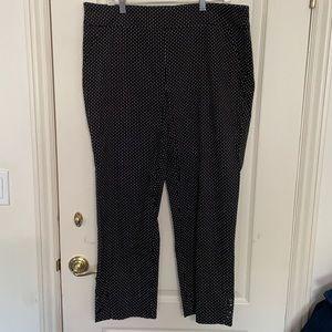 NWT Avenue Pull On Polka Dot Pants